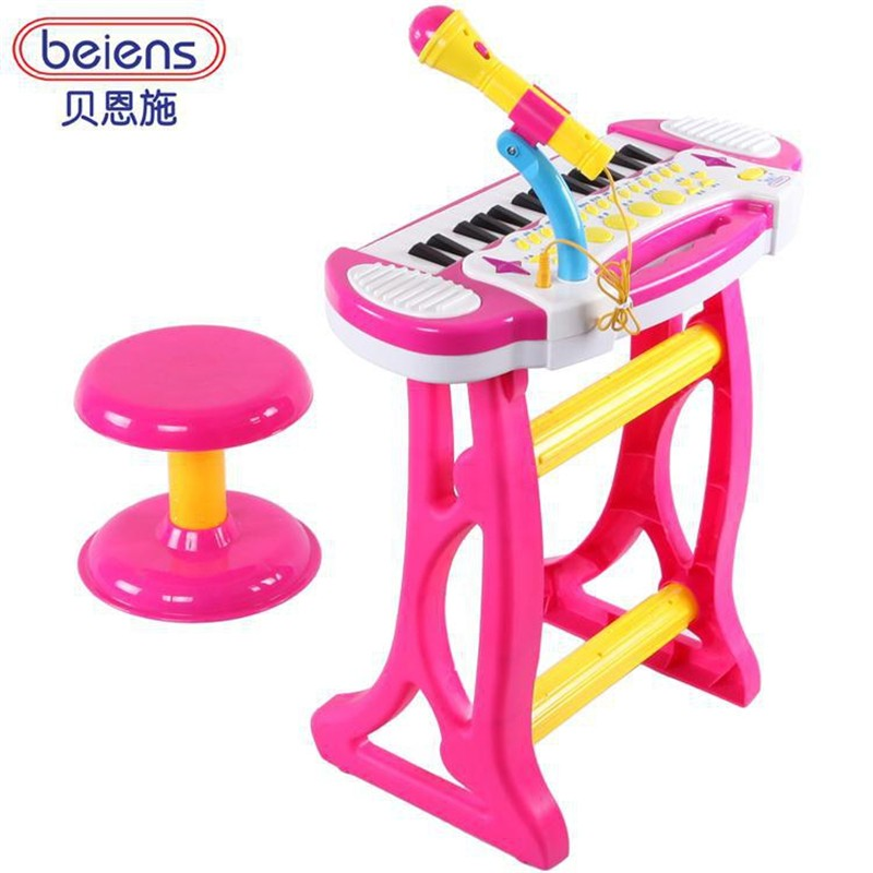 Electronic Piano Toys Baby Kids Children's Cartoon Enclosed Microphone Learning Education Toy Musical Instrument(China (Mainland))