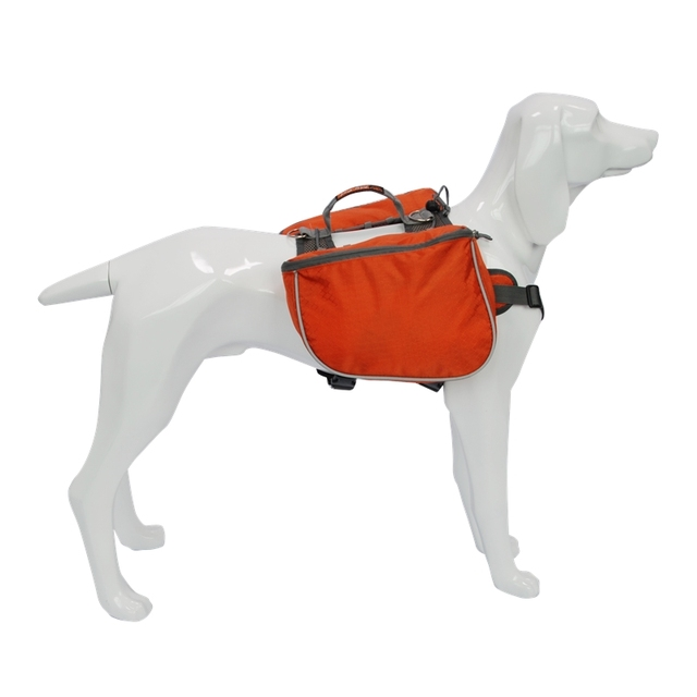Blackdoggy Waterproof Dog Backpack Sadlebag Harness
