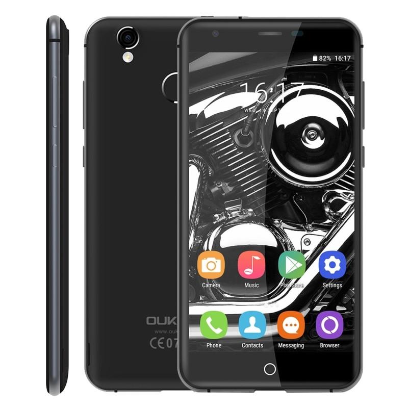 Original OUKITEL K7000 4G LTE Mobile phone 2GB RAM 16GB ROM MTK6737 Quad-Core 5 inch Android 6.0 2000mah Smartphone
