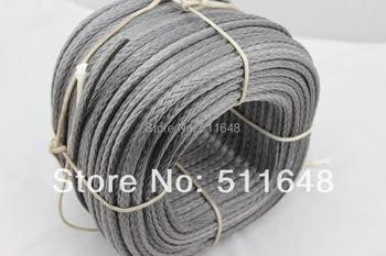 1000M 1900LB SL Dyneema fiber braid paragliding winch cord extreme tow rope 3mm 12 strand Free shipping