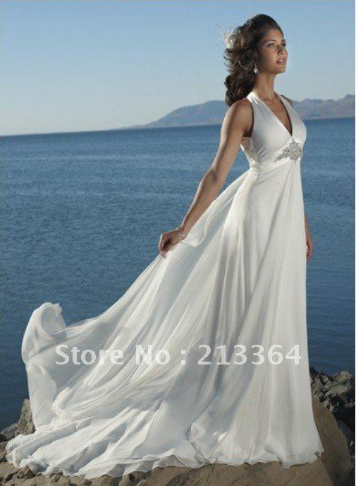 Free Shipping hot sale Import snow spins Sexy low back elegance temperament Wedding Dresses any size/color wholesale/retail(China (Mainland))