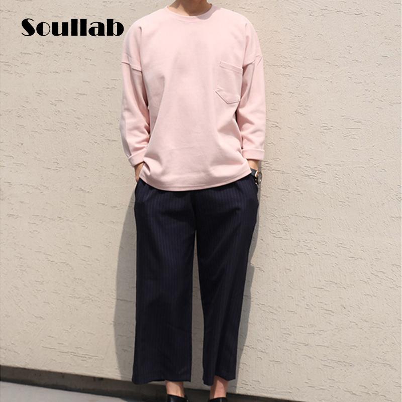 2016 Spring pink fashion mens hoodies sweatshirts pockets hip hop brand skate casual clothing sport streetwear over plus size(China (Mainland))