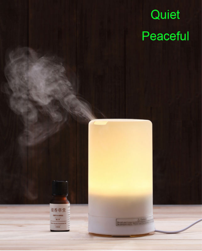 USA STOCK USB Portable Aroma Diffuser Night Light Essential Oil Ultrasonic Humidifier Fresh Air Spa For Home & Office USE0348(China (Mainland))