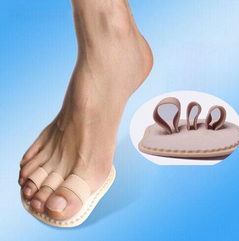 1Pair Feet Care Hallux Valgus Orthopedic Metatarsal Crooked Overlapping Hammer Toe Straightener Corrector