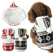 Buy 2016 New Hot Soft Winter Warm Pet Dog Clothes Cozy Snowflake Dos Costume Clothing Jacket Teddy Hoodie Coat ropa para perros for $9.44 in AliExpress store