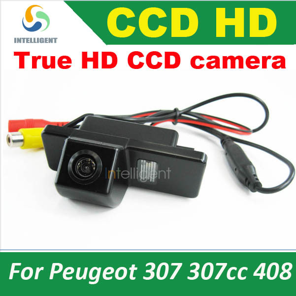 Real HD CCD Parking camera For Citroen C4 C5 C-Triomphe c-quatre Peugeot 307 307cc night vision waterproof color(China (Mainland))