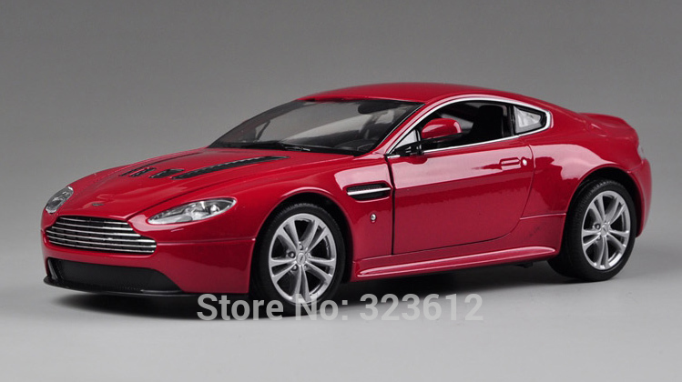 NEW 2015 New 1:24 AstonMartin V12 Vantage Alloy Diecast Vehicle car Model Collection Toy Red B2175(China (Mainland))