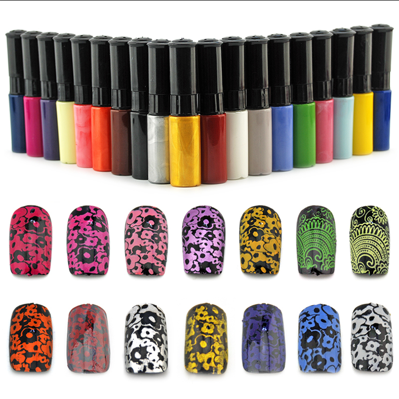 5 Bottle/LOT  New Nail Polish/stamp polish Wholesale price 15 color Optional 10ml More engaging 4 Seasons Available<br><br>Aliexpress