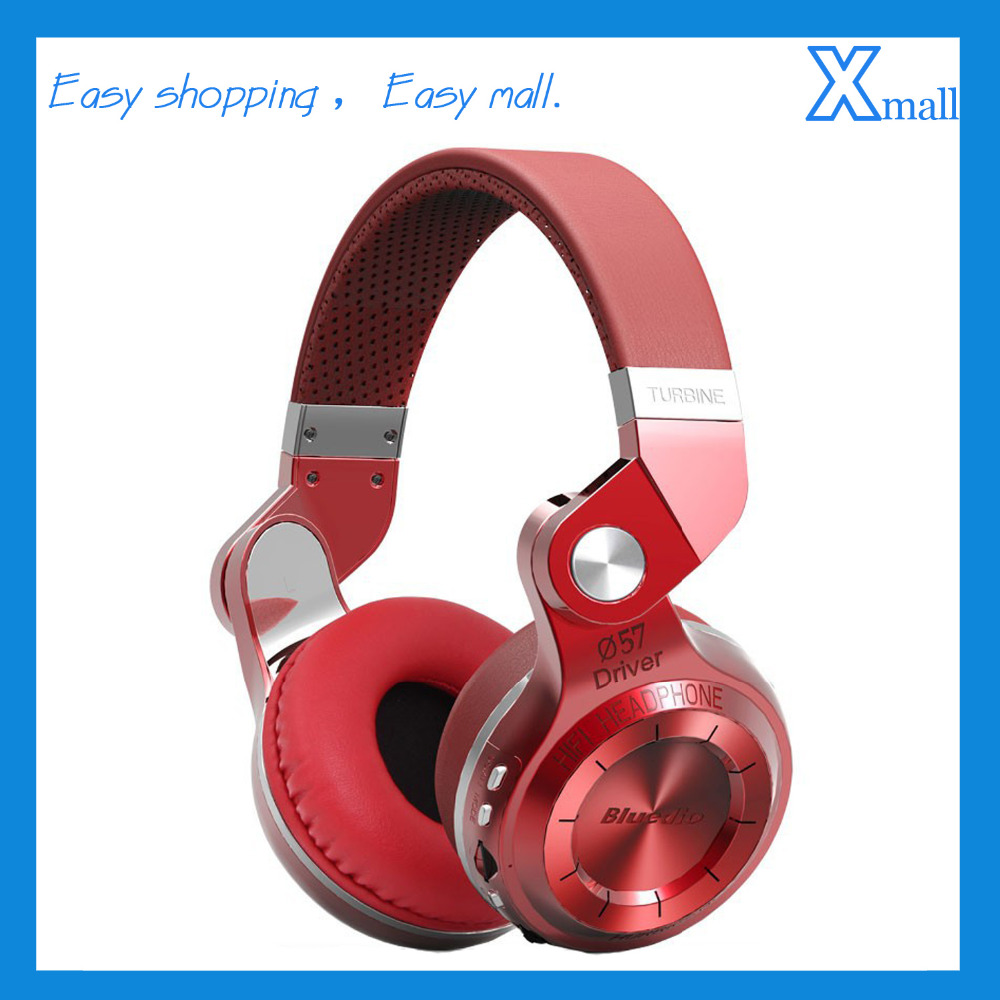 Bluedio T2+ Wireless Bluetooth HIFI Headphone Noise Cancelling Support FM With SD Card Slot Music&amp;Phone Calls Headset<br><br>Aliexpress