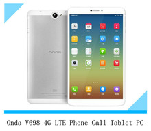 Onda V698 4G LTE Phone Call Tablet PC Marvell 1920 Quad Core 1.3GHz Android 4.3 2GB RAM 16GB ROM 6.98 Inch IPS 1280X720 3G GPS(China (Mainland))