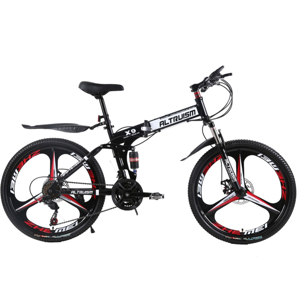 Altruism X9 Pro 24 Inch 21-Speed Steel Mountain Bikes Double Disc Brake Bicycles Mountain Bike Cycling Child's Bicycle(China (Mainland))