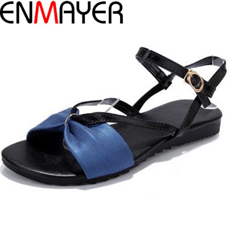 ENMAYER Fashion  summer shoes woman sandals women sandal for women flip flops flats sandal Girl women pumps sandy beach slipper