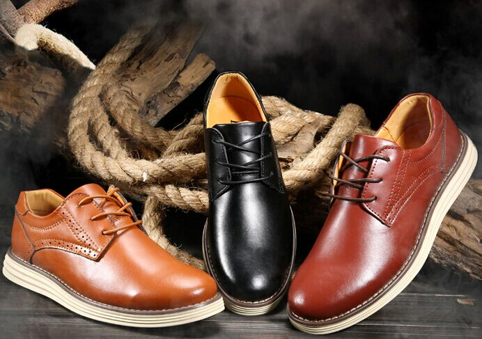 New 2015 mens genuine leather business causal shoes luxury brand design men daily leisure flats dress shoes<br><br>Aliexpress