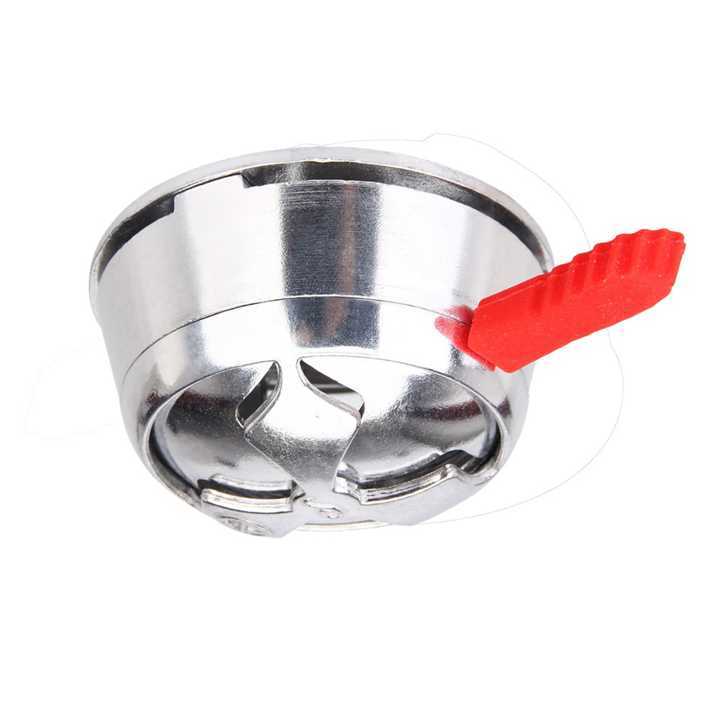 Hookah bowl Stainless Steel metal Silver Shisha Hookah Accessories charcoal holder heat keeper use for Men