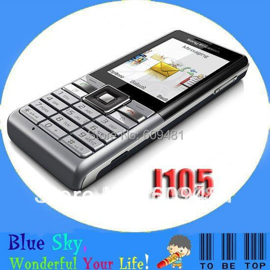 Russian keyboard Sony Ericsson J105 cellphones quad band original 3G phone(China (Mainland))