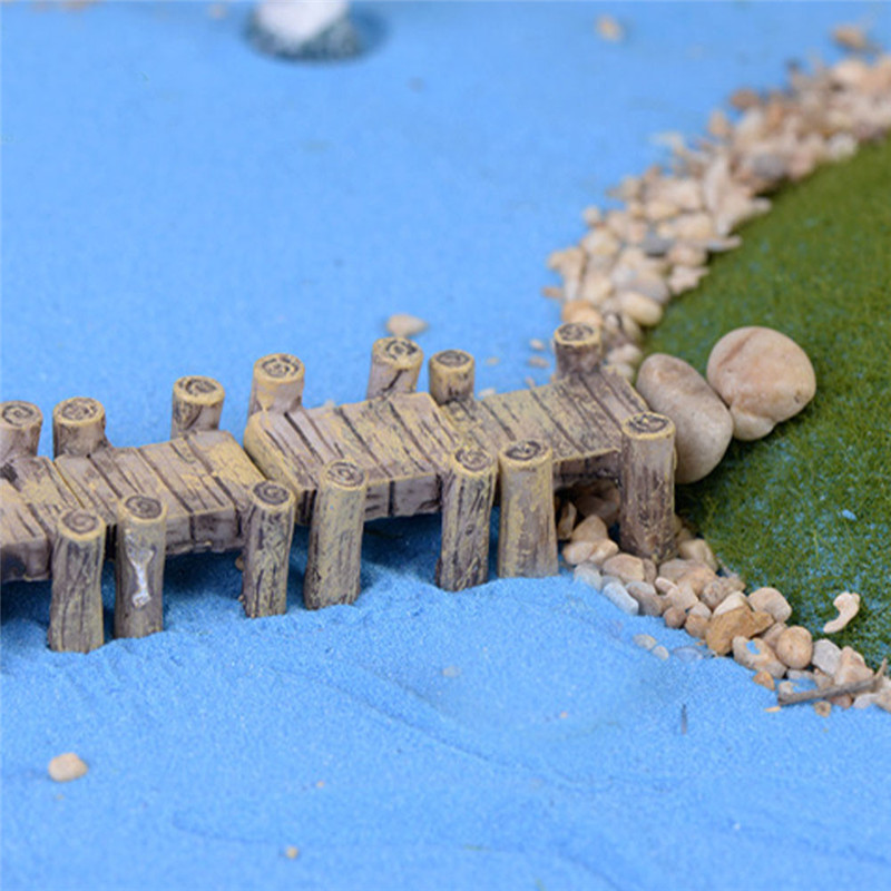 New Miniature Water Traffic Corridor Set Home ornament Kids Gift Mini toy bridge style drop shipping(China (Mainland))