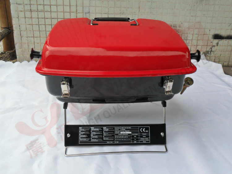 Royal protable gas BBQ grill ,outdoor gas BBQ grill,desktop grill(China (Mainland))