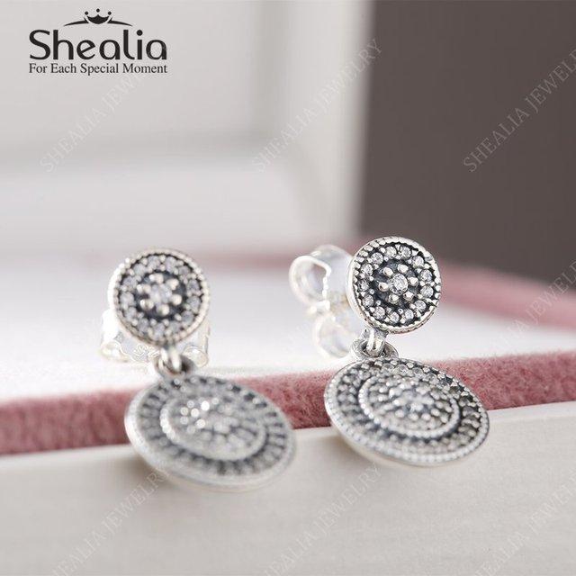 2016 весной новый небольшой CZ алмазная вымощают радиант-линия элегантность долго серьги стержня твердые 925 серебряные серьги для женщин