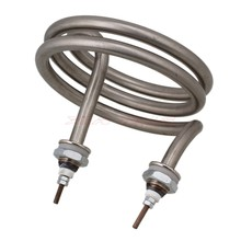 AC220V 4500W Electric Element Helix Booster spring type stainless steel heating tube heating tube heat pipe(China (Mainland))