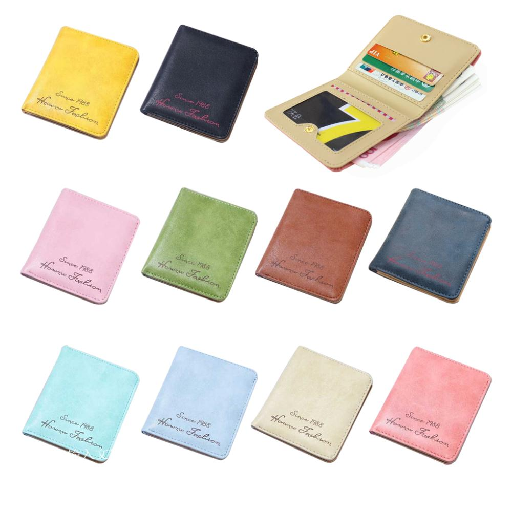 High quality synthetic Leather polyester Cute Funny Magic Girl Card Wallet Pouch synthetic Leather bag wallet
