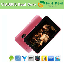 7 inch Tablet PC Dual Core VIA 8880 With HDMI 5 Points Capacitive Screen 1GB/8GB Android 4.2 Tablet PC(China (Mainland))