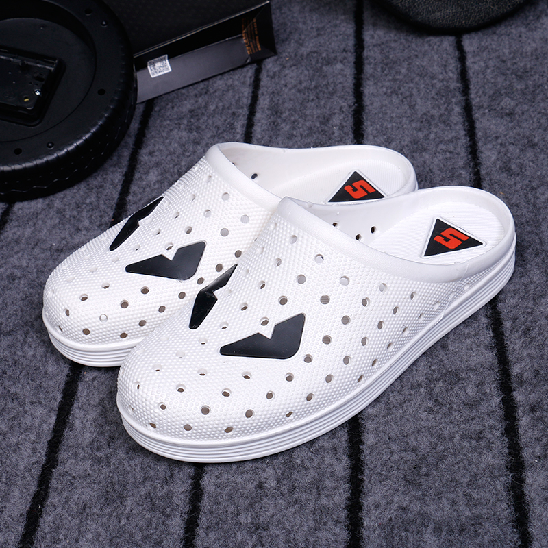 2016 Moda Verão Tamancos Monstro Para Homens Slip On c274 Mulas Respirável Confortável Sapatos Chinelos de Praia Ao Ar Livre Para O Sexo Masculino 65(China (Mainland))