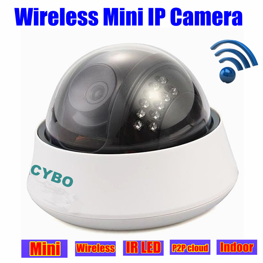 mini Wireless CCTV IP camera HD Network home Security Dome P2P WiFi Night Vision Indoor surveillance camaras de seguridad<br><br>Aliexpress