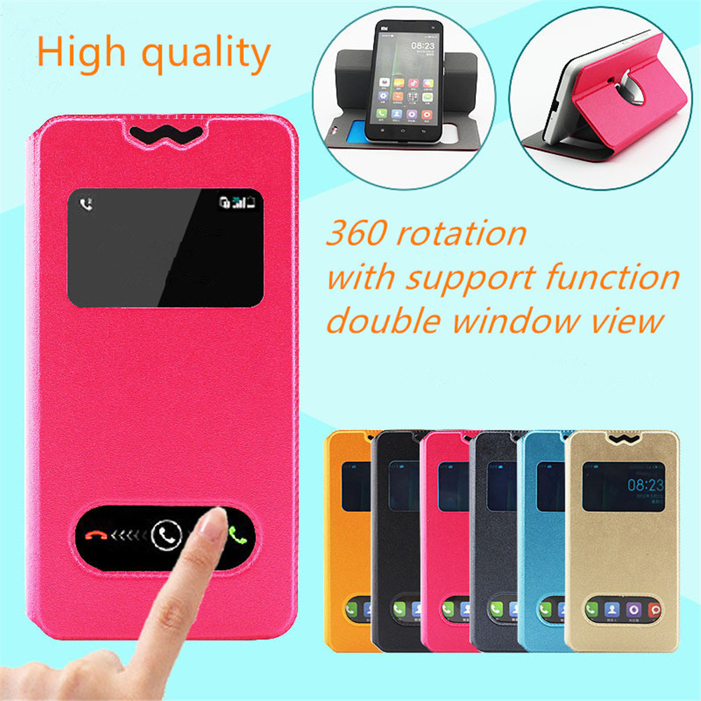 For Samsung GT-i9023 Google Nexus S,GT-i9020A Case New 360 Rotation Leather Cover5 With Double Window View Mobilephone Holder(China (Mainland))