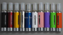 1 Piece sale MT3 Atomizer 1.8ml Capacity eGo Cartomizer Bottom Coil Heating 11 Colors Evod Clearomizer for Electronic Cigarette