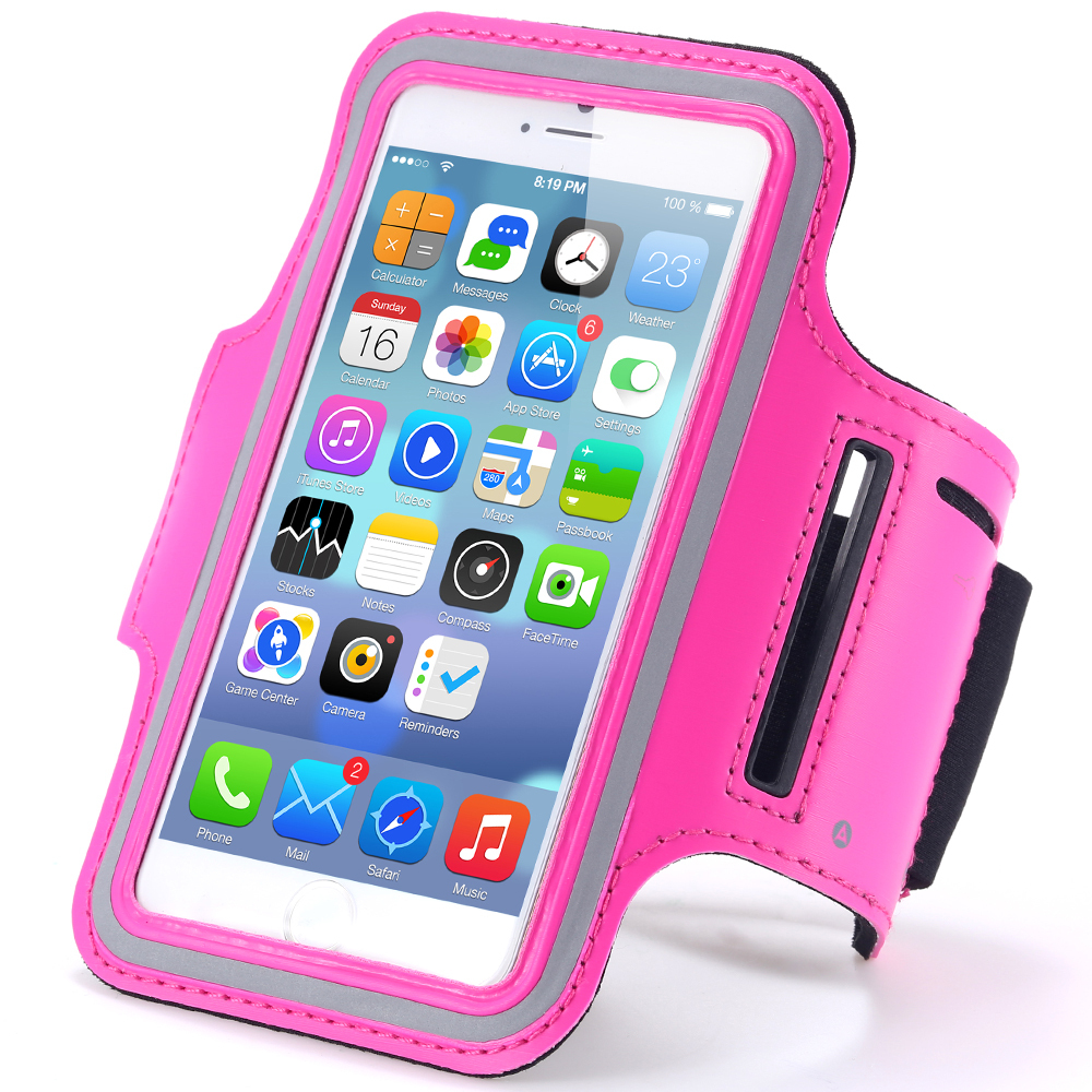 Fashion Waterproof Leather Sports Running Armband Phone Case For iPhone 6 Plus 5.5'' Belt Wrist Strap GYM Arm Band Cover iphone6