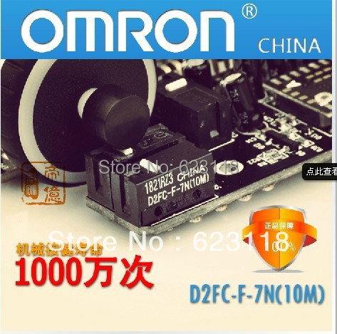 free shipping 10 Pcs/lot new authentic OMRON micro switch D2FC-F-7N mouse button fretting Click ten million times 100% new(China (Mainland))