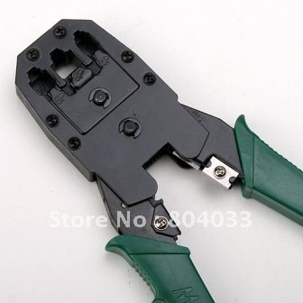 Discount Network Crimper Pliers Tools For RJ45 RJ11 RJ12 CAT5 Cable, Best Free Drop Shipping(China (Mainland))