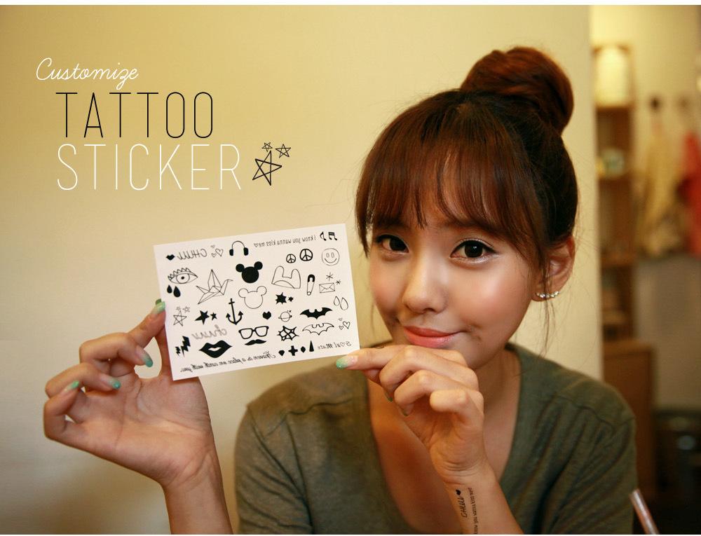 Free ship 10pcs/lot tattoos iron anchor the stars flash paper airplane bats lip prints environmental beauty makeup stickers M482(China (Mainland))