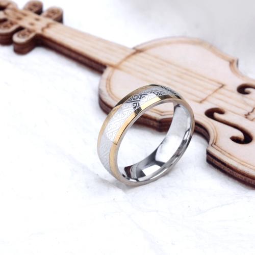 plating New Men Women fashion bow screen pattern gold silver ring titanium steel jewelry gift jz234(China (Mainland))