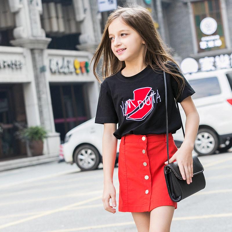 Buy baby girls dress frock designs denim kids clothing for Dark denim toddler shirt