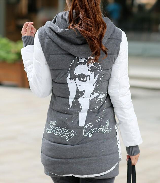 Женские пуховики, Куртки COAT Slim 3242