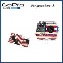 2014 New fashion American Flag case Sticker for gopro HD Hero 3 housing gopro Accessories The old stickers