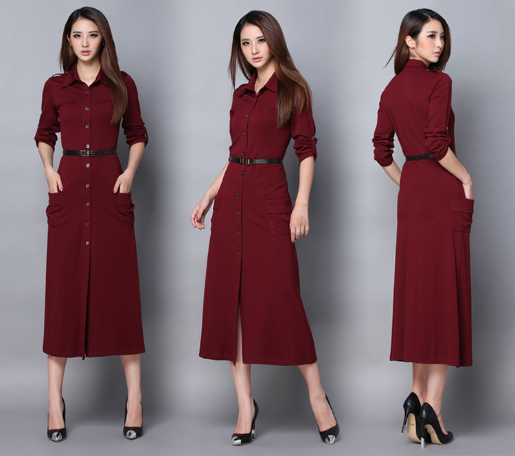 Женское платье Spring autumn dress 2015 , Brested OL LJ1633 OL dreee