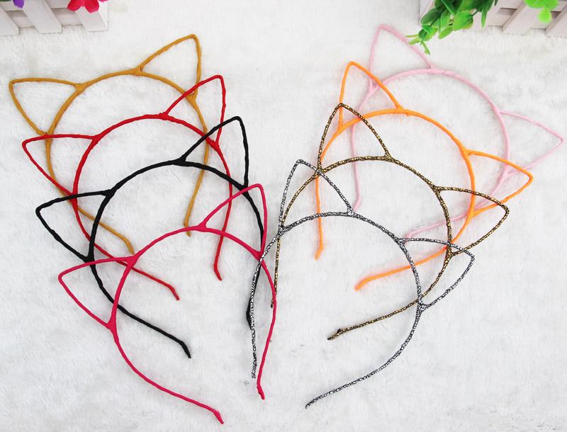 1 PCS Stylish Women Girls Cat Ears Headband Accessories Sexy Head Band Multicolor Hello Kitty Styling Tools Headwear(China (Mainland))
