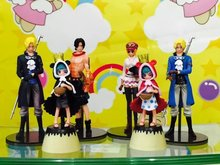 Anime 6pcs/set One Piece PVC Action Figures Collection Model Toys Free shipping KB0605
