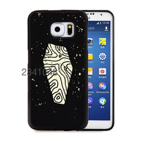 Halloween Coffin Flat Minimal soft edge cellphone cases for samsung s3 s4 s5 note2 note4 note5 phone shell