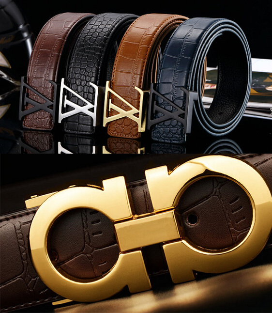 2015 hot brand mens womens designer belts for men women luxury leather belt Cowhide Belt free shippin(China (Mainland))