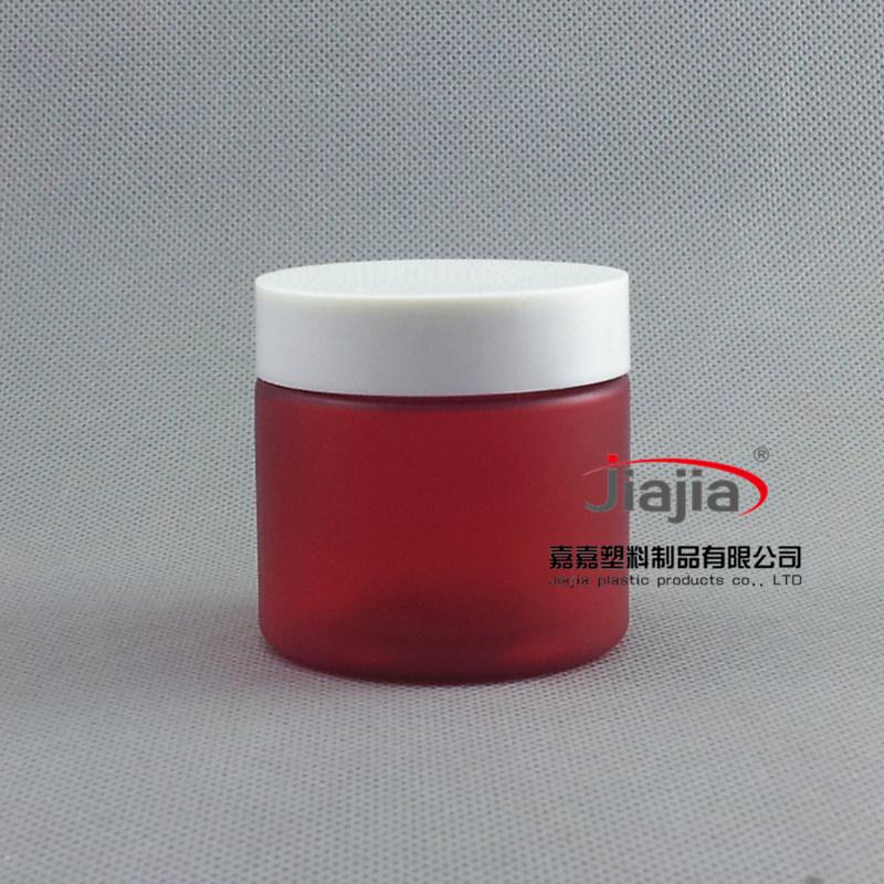 Здесь можно купить  50ml red frosted Pill Container ,Plastic Medicine Box with white Cover ,50g Clear Food Grade Material PET Jar  Красота и здоровье
