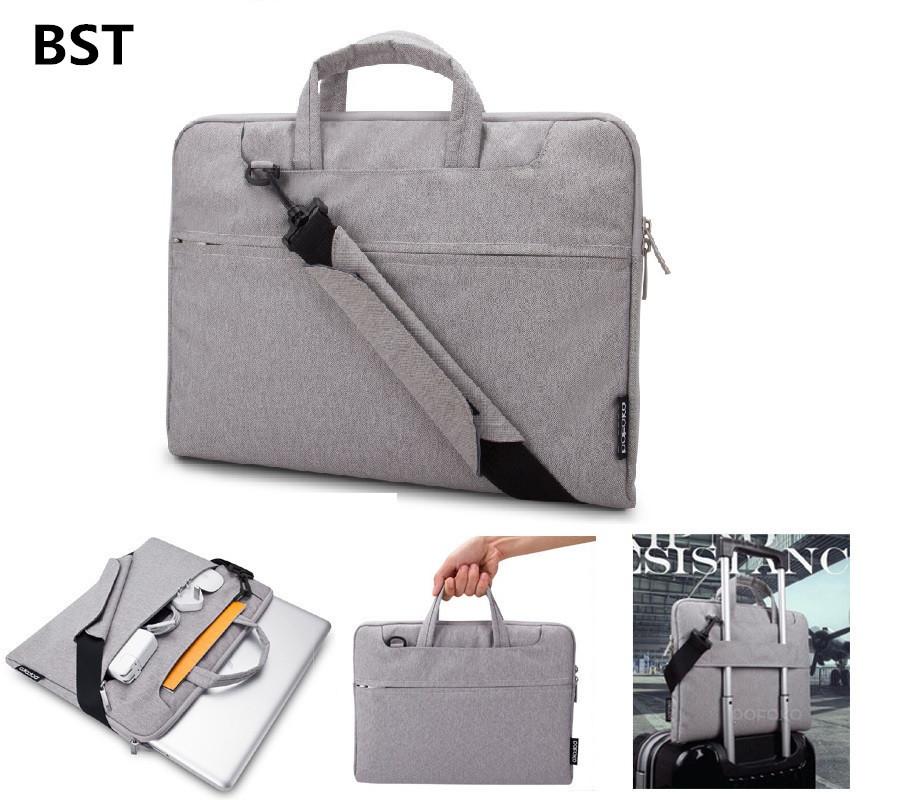 2015 portable notebook laptop sleeve bag handbag briefcase. Black Bedroom Furniture Sets. Home Design Ideas