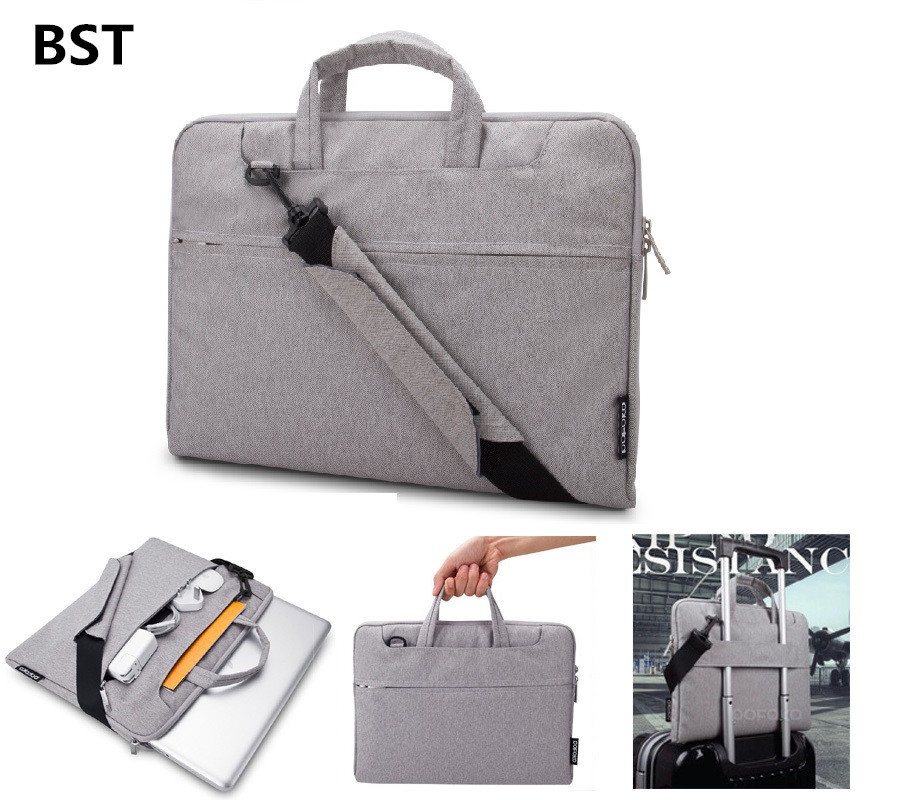 2015 portable notebook laptop sleeve bag handbag briefcase for 14 dell hp lenovo thinkpad. Black Bedroom Furniture Sets. Home Design Ideas