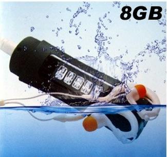 4GB LCD Good quality Display Screen Waterproof Swimming Sport MP3 Player FM Radio #3002(China (Mainland))