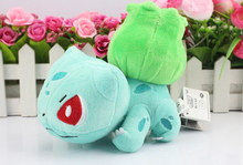 1pcs 6″15cm Pokemon Bulbasaur Plush toy figures Toys Banpresto climb Pokemon Soft Stuffed Anime Cartoon Dolls kawaii kids toys