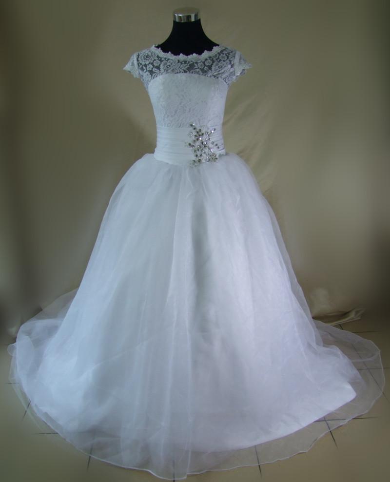 Wedding Dress Lace Flowers : Photo vestido de noiva flowers lace organza wedding dress ball gown