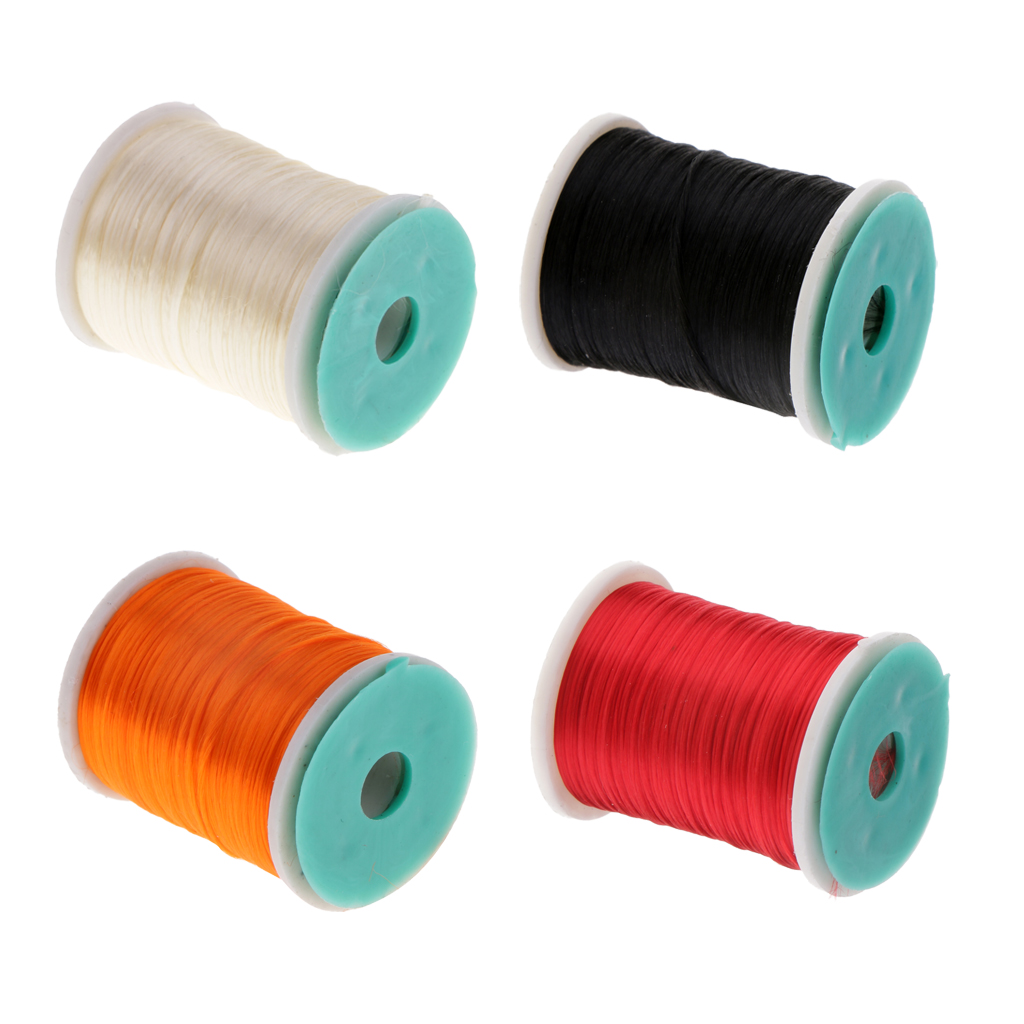MagiDeal 2pcs 210 Denier Fly Tying Threads Material Fly Fishing Thread 250m