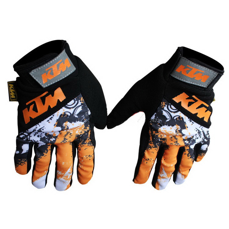 Free shipping 2016 new fashion style off road gloves motorcycle racing gloves KTM GLOVES(China (Mainland))